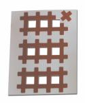 Аку тейпы BB ACU TAPE™ 1 см x 1 см бежевый