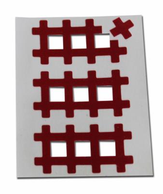 Аку тейпы BB ACU TAPE™ 1 см x 1 см красный