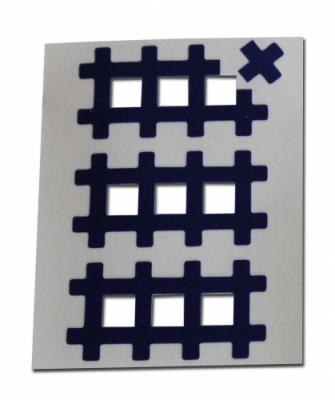 Аку тейпы BB ACU TAPE™ 1 см x 1 см синий
