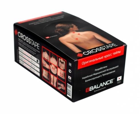 Кросс тейпы BB CROSS TAPE™ 4,9 см x 5,2 см (размер C) красный